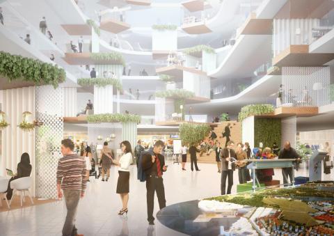 Tyréns är med och tävlar om Tekniska nämndhusets framtid