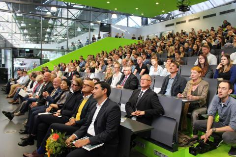 Feierliche Eröffnung des Akademischen Jahres 2017/2018 und Immatrikulation der Erstsemester