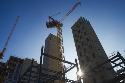 Reaction to ONS construction industry output figures for November
