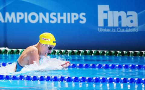 Två simmedaljer till Jennie Johansson efter ryskt dopingfall