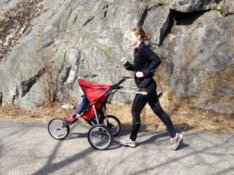 jolly motion handsfree jogging