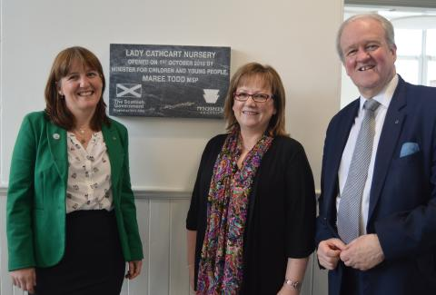 Lady Cathcart Nursery Officially Opened by Scottish Government Minister