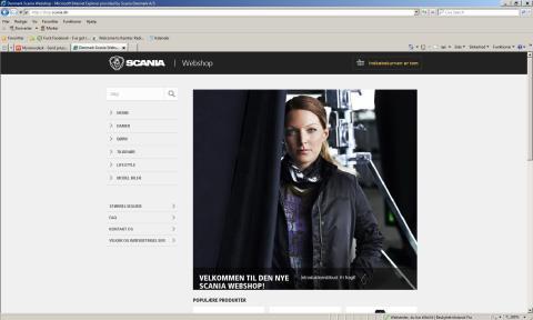 Scania lancerer ny webshop på www.scania.dk