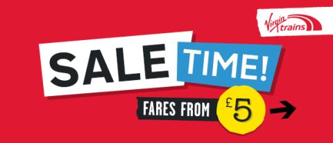 Spring into action this season with over half a million tickets up for grabs in the Virgin Trains Spring Seat Sale