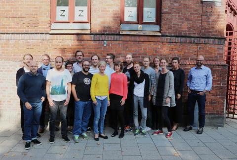Delar av Zenit teamet, september 2014.