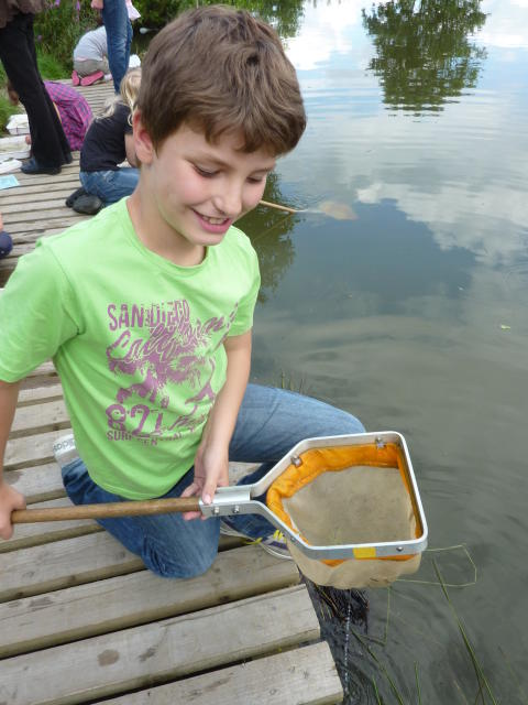 Summer play at Chesham Local Nature Reserve