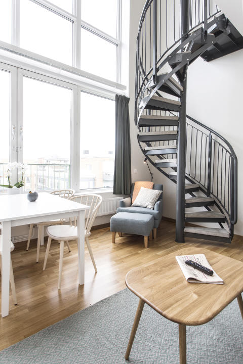 Enjoy an Etage apartment at Biz Apartment Hammarby
