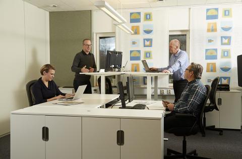 Arbetsplatser som skapar möten