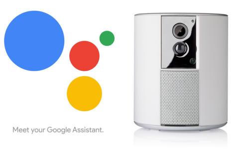 Larmet Somfy Protect kan röststyras med Google Home