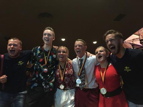 Guld och silver på junior-VM