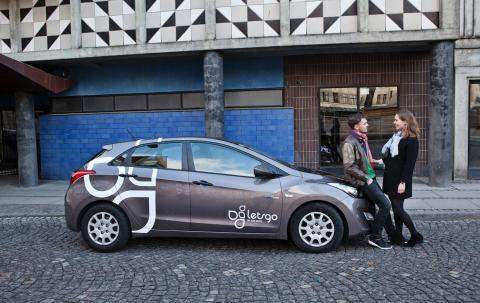 Sæt lighedstegn mellem delebiler og bæredygtighed