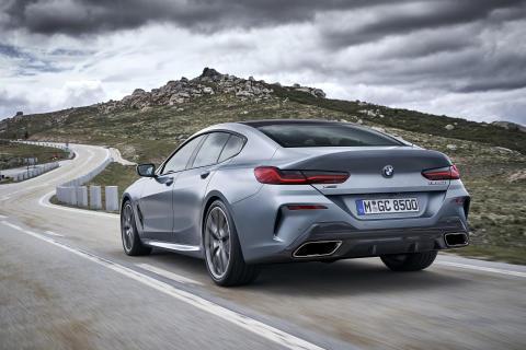 BMW 8-serie Gran Coupe