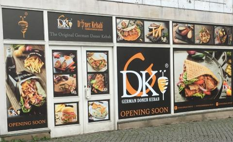 Döner Kebab hyr på Gustav Adolfs torg