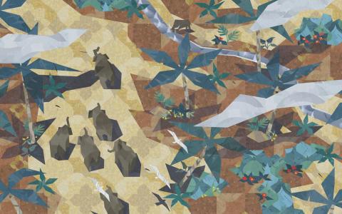 Ny utställning. Yarny, Medusa och en elefant: Hantverket bakom svensk speldesign