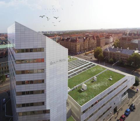 """Assemblin installerar smart teknik i Malmös nya """"kvarn"""""""