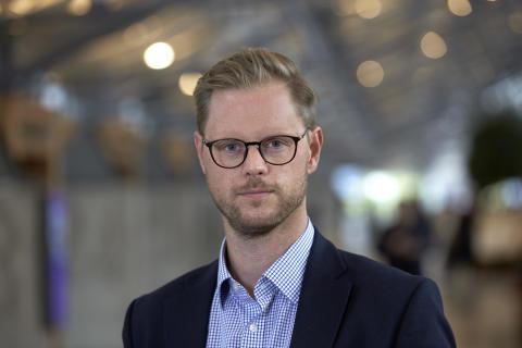 Gustav Corin, projektledare strategisk planering