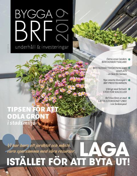 Nya numret av Bygga Brf nr 2 2019 ute nu!