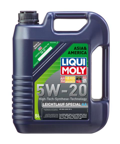 Asia & America 5W-20 - ny specialolja för asiatiska och amerikanska bilar