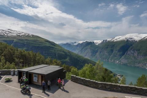 Die schönste Toilette der Welt auf dem Aurlandsfjell