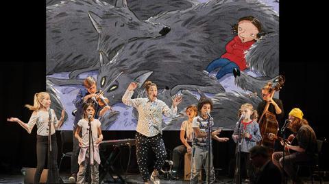 Konsert för barn på Dunkers: Gittansånger