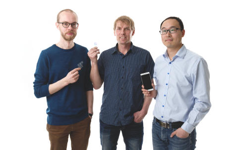 Smartphone Diagnostic Biochip