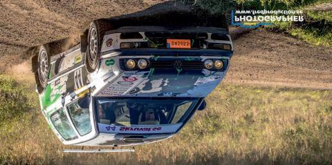 Hanhela Rally avslutar på en 3:e plats i rally-SM.