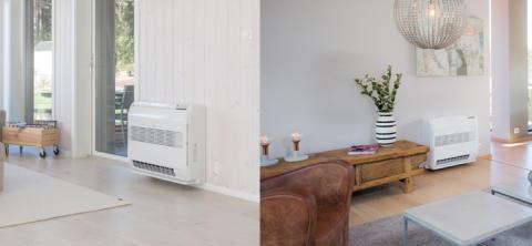 Varmepumpe med to innedeler i ny, og oppgradert versjon