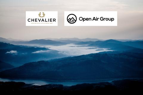 Chevalier blir en del av Open Air Group