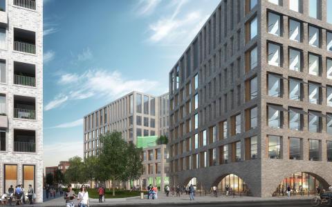 Taloteknistä dataa kerätään jo rakennusvaiheessa - Schneider Electric tuo tekoälyn Helsingin Kaupunkiympäristötaloon