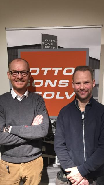 Årets (åter)vinnare - Ottossons Golv tog hem 2:a priset!