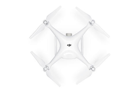 DJI Phantom 4 Advanced (W top)
