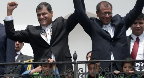 Ecuador's Correa cruises to new term