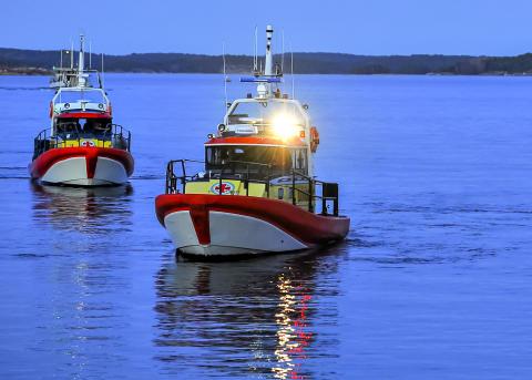 Räddningsbåtar ur Victoriaklassen