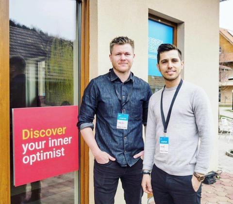 Startup-företaget Happy at Work vidare som enda svenska startup till mentorprogram i Budapest