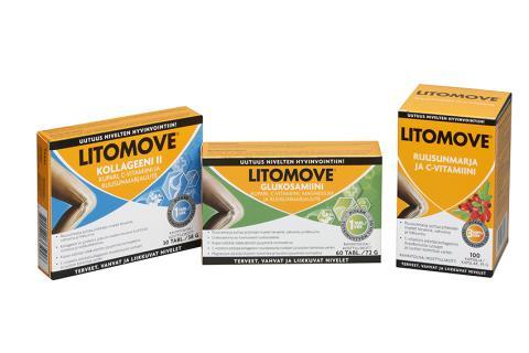 Uusi LitoMove-tuotesarja nivelten hyvinvointiin – Monta tärkeää ainesosaa yhdessä valmisteessa