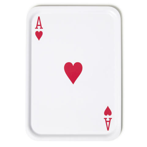 Tray ''Ace of Hearts'' by Daniel Carlsten