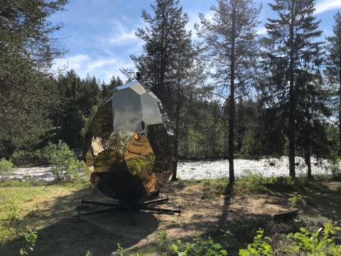 Riksbyggens Solar Egg i Gällivare