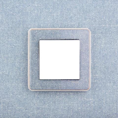 Exxact strömbrytare med designram
