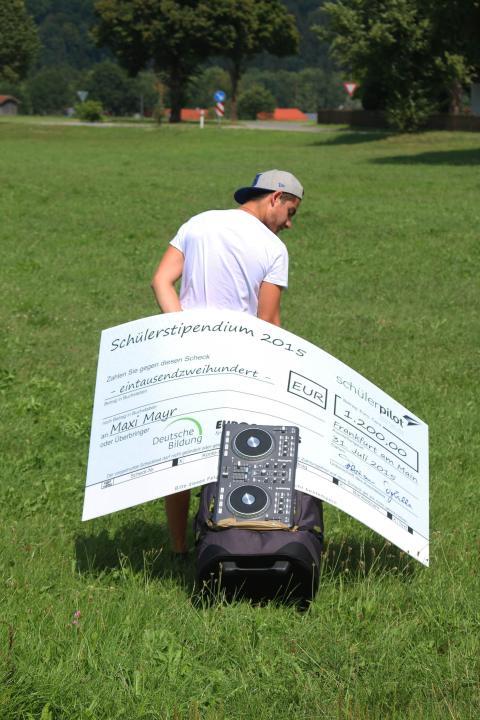 Maxi Mayr - Gewinner des Schülerpilot-Stipendiums