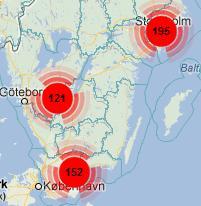 Byggvåren och byggkartan 2013 enligt projektbevakning från Sverige Bygger