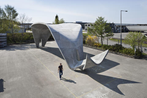 Unik betonkonstruktion i Aarhus