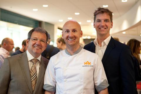 Invigning Max tredje restaurang på Arlanda - utrikeshallen