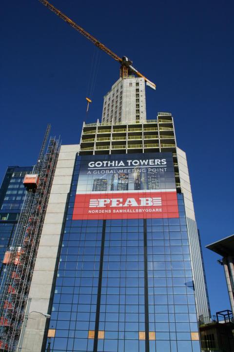 Arkitektkopia får utökat förtroende av Peab