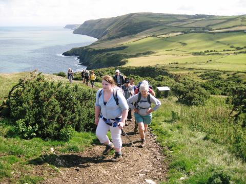 ENJOY THE BEST OF WELSH WALKING WITH RAMBLERS WALKING HOLIDAYS…  JUST LIKE THERESA MAY