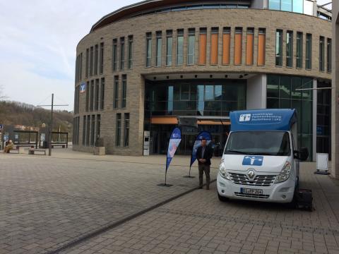 Beratungsmobil der Unabhängigen Patientenberatung kommt am 9. Oktober nach Schwäbisch Hall.