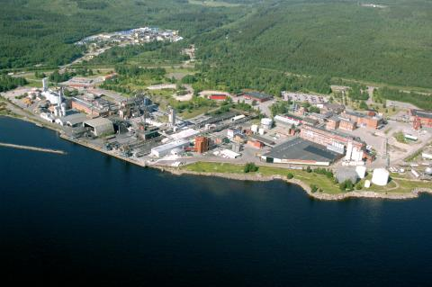 AkzoNobels fabrik i Sundsvall