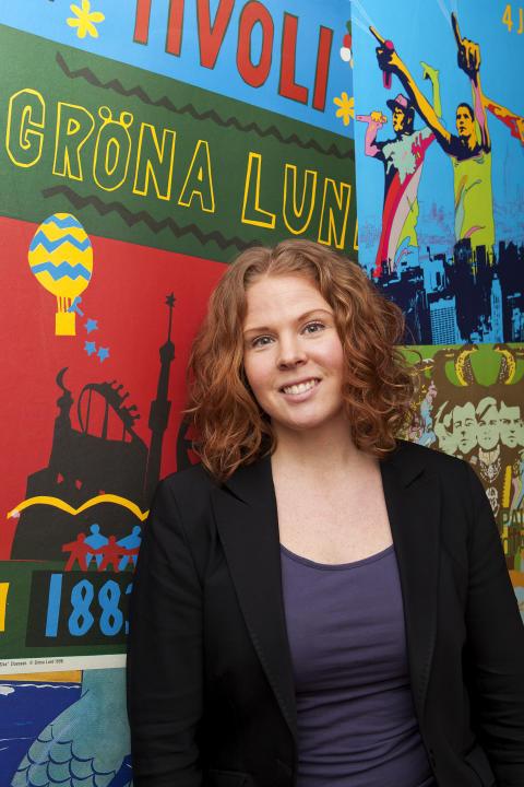 Annika Troselius - Informationsansvarig på Gröna Lund