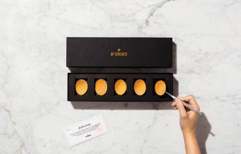 Premiär för världens dyraste potatischips