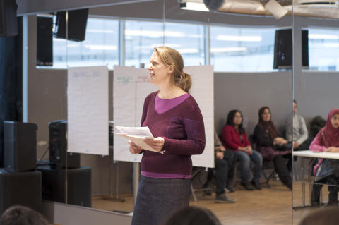 Kaja Hegg, rådgiver i Redd Barna