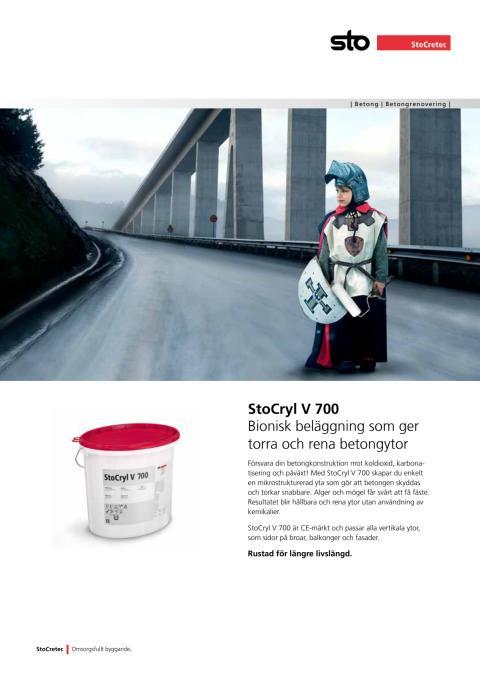 Informationsblad StoCryl V 700